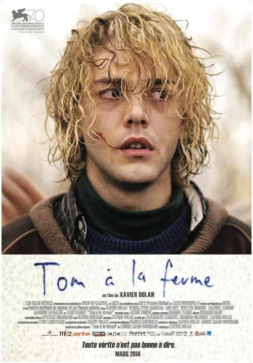 TOM À LA FERME - Affiche québécoise